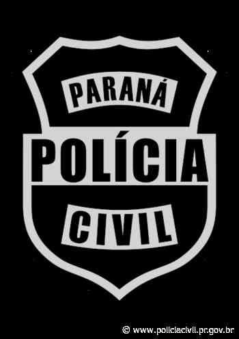 PCPR indicia dois homens por dano ao patrimônio em Agudos do Sul - Polícia Civil do Paraná