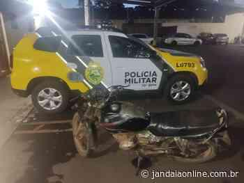 Motocicleta furtada há 14 anos é apreendida em Jandaia do Sul - Jandaia Online