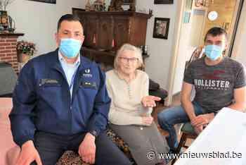 Vondst tijdens verbouwing Colruyt maakt weduwe Carola (92) dolgelukkig