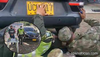Transportaba base de coca en carro de alta gama en suaza, Huila - Opanoticias