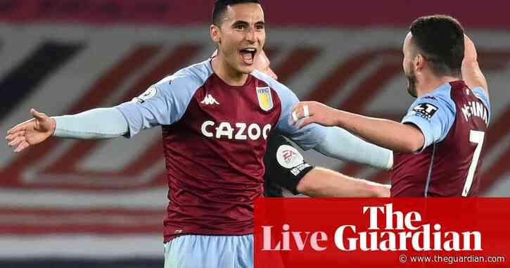 Everton v Aston Villa: Premier League – as it happened