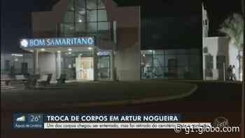 Delegado instaura inquérito para apurar troca de corpos em Artur Nogueira; 'é dor demais', diz família - G1
