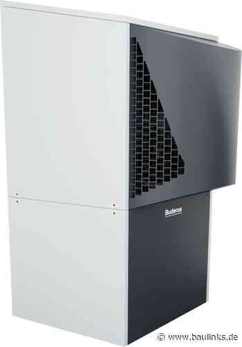 Luft/Wasser-Wärmepumpe mit bis zu 38 kW Leistung neu von Buderus