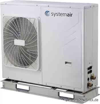 Neue Monoblock-Luft-Wasser-Wärmepumpe von Systemair- vorbereitet für bivalente Anlagen