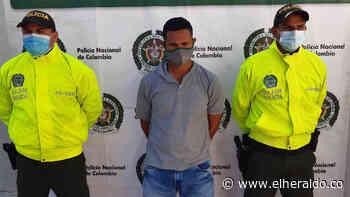 Capturan a presunto asesino de un hombre en Luruaco - EL HERALDO