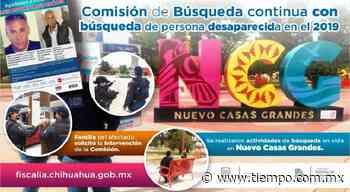 Operativo en Nuevo Casas Grandes, buscan a Luis Antonio Rojo - El Tiempo de México