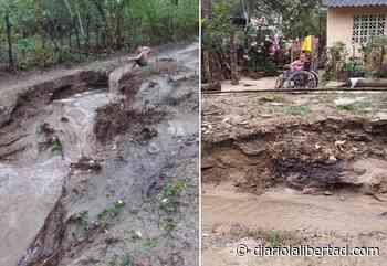 En Baranoa, comunidad del barrio San José Primavera clama por reparación de la vía - Diario La Libertad