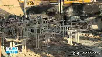 Incêndio destrói escola pública em Matriz de Camaragibe, AL - G1