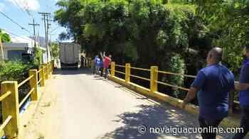 Passarelas e pontes de Porciúncula e Natividade são vistoriadas pelo programa Caminho Seguro - Nova Iguaçu Online