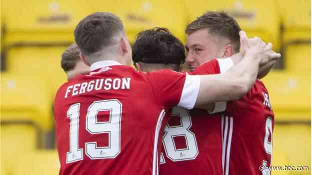 Livingston 1-2 Aberdeen: Visitors ensure European football with win - BBC News