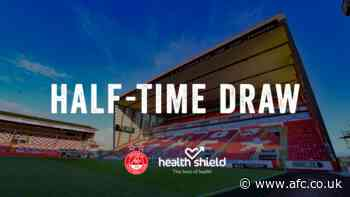 Half Time Draw | Livingston v Aberdeen 1st May 2021 - afc.co.uk - afc.co.uk