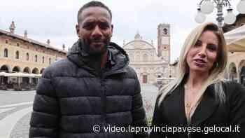 Il calciatore e la modella in piazza a Vigevano - La Provincia Pavese
