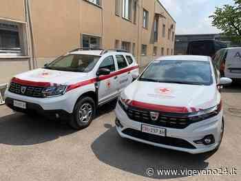 Due nuovi autoveicoli per il comitato di Vigevano della Croce Rossa - Vigevano24.it