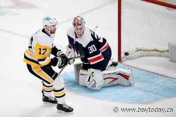 Penguins shut out Capitals 3-0 to reclaim 1st place in East