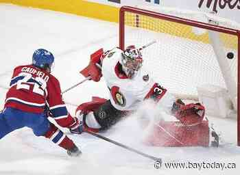 Cole Caufield scores OT winner, first career NHL goal in Montreal's 3-2 win over Sens