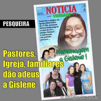 ADVENTISTAS   Homenagem póstuma a Gislene Benigno, diretora do Colégio IEA, em Pesqueira - Flávio José Jardim