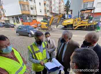 Câmara de Sintra investe na zona dos Quatro Caminhos em Queluz - Sintra Notícias