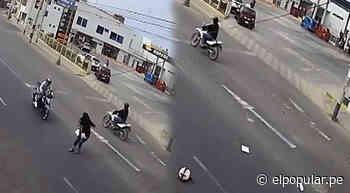 Huacho: Mujer fue atropellada por una moto lineal que iba a excesiva velocidad - ElPopular.pe