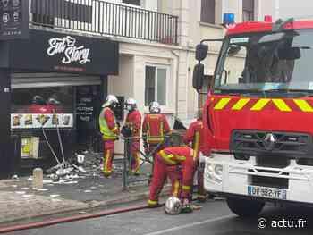 Val-de-Marne. Alfortville : un incendie survient dans un fast food, le centre-ville bloqué - actu.fr