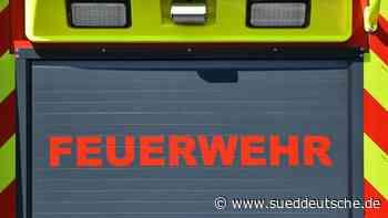 Brand in Lagerhalle in Stralsund: 150 000 Euro Schaden - Süddeutsche Zeitung