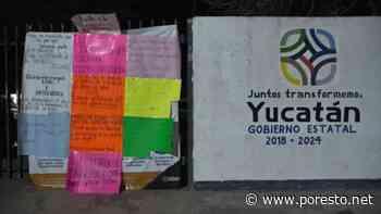 Alumnos del COBAY de Tixkokob protestan por despido de docentes - PorEsto