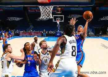 Game Recap: Thunder 95, Pacers 152