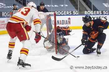 McDavid scores, Smith stops 29 pucks in Edmonton's 4-1 win over Calgary Flames