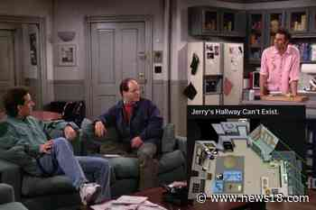 What's Wrong with Jerry Seinfeld's Apartment? Redditor Says it Cant Exist - News18