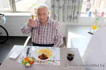 Nu ook 101-ste verjaardag in coronatijd voor Marcel - Het Nieuwsblad