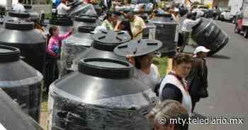 Tener un tinaco en casa sería prioridad ante la sequía que espera NL - Telediario Monterrey