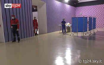 Covid Piemonte, a Rivoli il primo hub vaccinale in un museo. Video - Sky Tg24