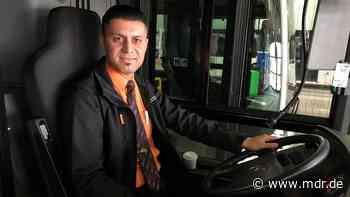 Iraker fängt als Bus- und Bahnfahrer in Nordhausen neu an - MDR