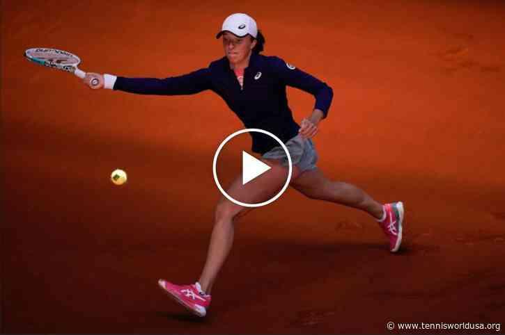 WTA Madrid 2021: Iga Swiatek vs Siegemund's HIGHLIGHTS