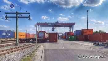Containerbahnhof Ulm-Dornstadt: Ausbaupläne für das Terminal sind eingereicht - SWP