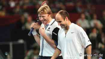 Andre Agassi: Boris Becker verlor gegen ihn immer wegen seiner Zunge - RTL Online