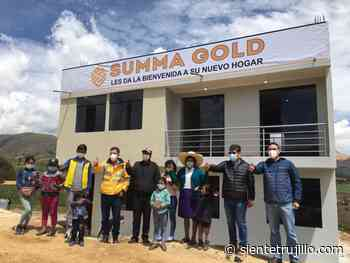Huamachuco: Minera entrega vivienda a 9 hermanos que perdieron a sus padres en accidente - Siente Trujillo