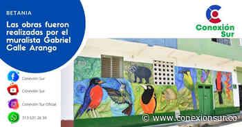 Murales adornan espacios en Betania - ConexionSur