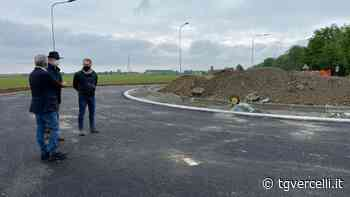 Nuova rotatoria a Saluggia: il 10 maggio il traffico verrà deviato sul nuovo senso di marcia - tgvercelli.it