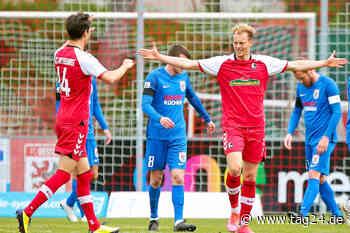 Ex-Dynamos Fetsch und Dürholtz treffen, doch SC Freiburg II vor Aufstieg in 3. Liga! - TAG24