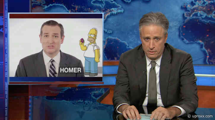 Ted Cruz Got Roasted By Jon Stewart After Mocking 'The Daily Show' - UPROXX