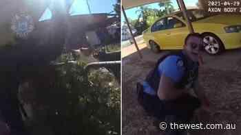 'Beware of dog': Pilbara cops' lucky escape during foot chase through Karratha - The West Australian