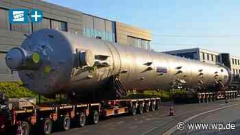 Schwertransport mit 72 Metern Länge fährt in Wilnsdorf los - Westfalenpost