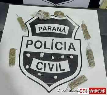 Polícia Civil de Santa Terezinha de Itaipu apreende adolescente por ato infracional análogo ao crime de tráfico de drogas - Portal Costa Oeste