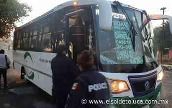 Implementan operativos en Zumpango para inhibir la comisión de delitos en unidades de pasajeros - El Sol de Toluca