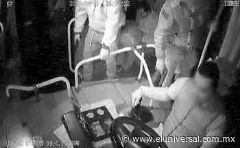 Captan asalto en transporte de Zumpango   El Universal - El Universal