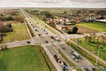 Ombouw kruispunt Riemsesteenweg Evergem kan eind 2022 beginnen - Bouwkroniek