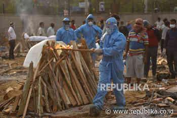 Berjibaku Makamkan Jenazah Covid-19 di New Delhi - Republika Online