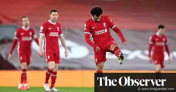 Jürgen Klopp's fallen Premier League kings have five games to save season
