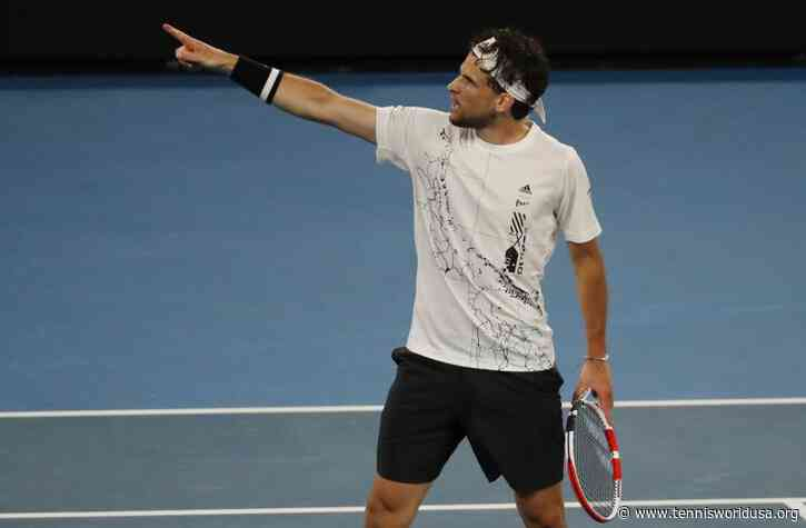 Dominic Thiem: The break was good, I needed it