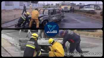 Bomberos de El Tigre y San Tomé atienden segundo incendio de vehículo en menos de 24 horas - diarioelvistazo.com